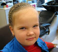 Детская стрижка и прическа Нестефоренко Марины.