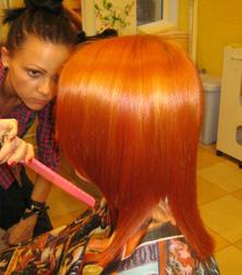 Окрашивание волос Нестефоренко Марины.