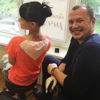 Татуировщик Александр